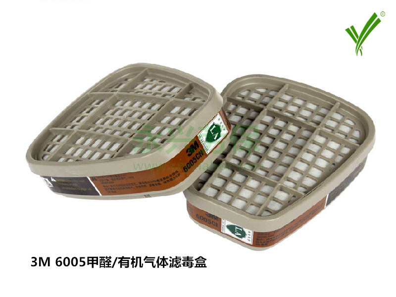 3M 6005甲醛/有机气体滤毒盒