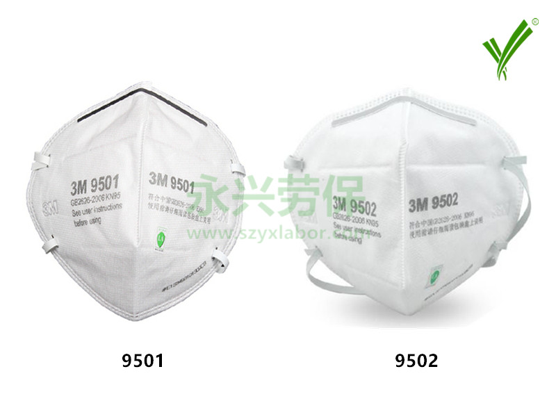 3M KN95防颗粒物口罩